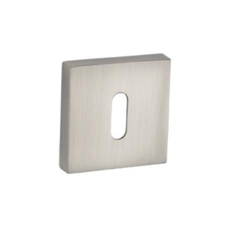 Rozeta kwadratowa RGQ 301 satyna na klucz