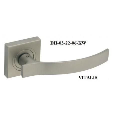 Klamka DH-03-22 VITALIS GAMET szyld kwadratowy