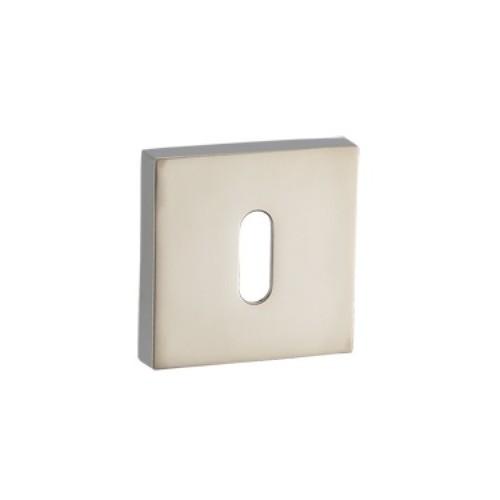 Rozeta kwadratowa RGQ 601 satyna mat na klucz