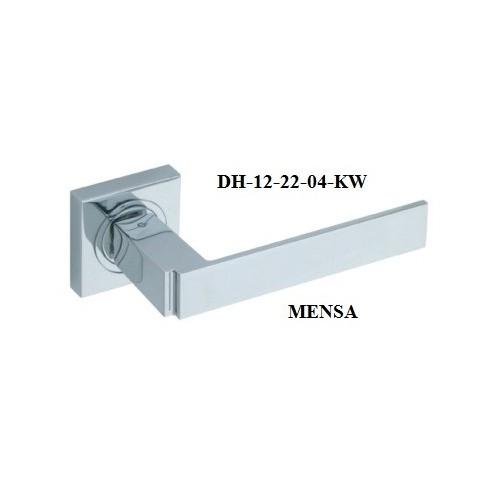 Klamka DH-12-22-KW MENSA GAMET szyld kwadratowy