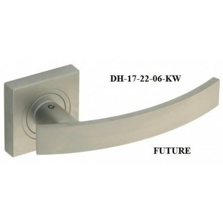 Klamka DH-17-22-KW FUTURE GAMET szyld kwadratowy