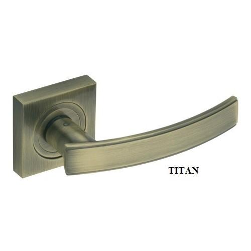 Klamka DH-C-22-KW TITAN GAMET szyld kwadratowy