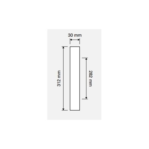 Uchwyd drzwiowy ZEN Wenge 282mm LINEA CALI