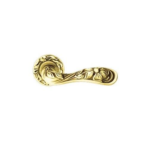 Klamka ARTE 113 szyld okrągły OF francuskie złoto LINEA CALI