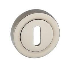 Rozeta okrągła RCK 301 satyna na klucz