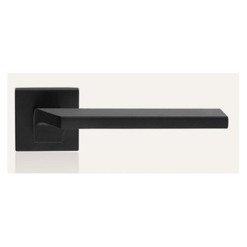 Klamka GIRO ZINCLAR 024 szyld kwadratowy VE czarny matowy LINEA CALI