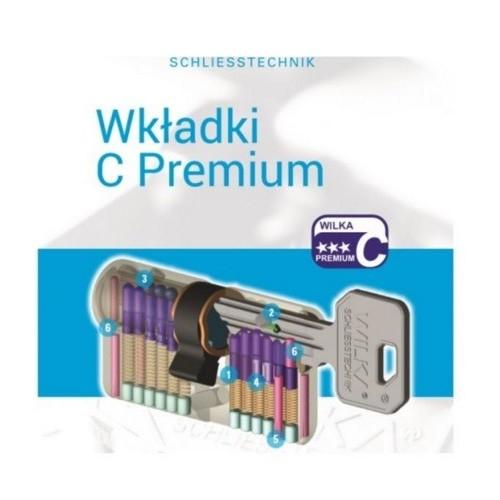Komplet wkładek WILKA - Zestaw ATEST C PREMIUM