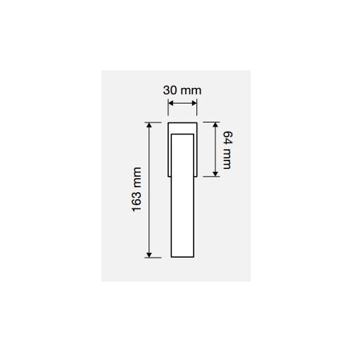 Klamka okienna DUNA 4-skokowa LINEA CALI