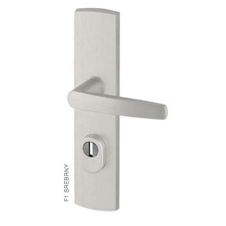Klamka DIVA FLEX AXA z zabezpieczeniem klasa 3 do drzwi zewnętrznych