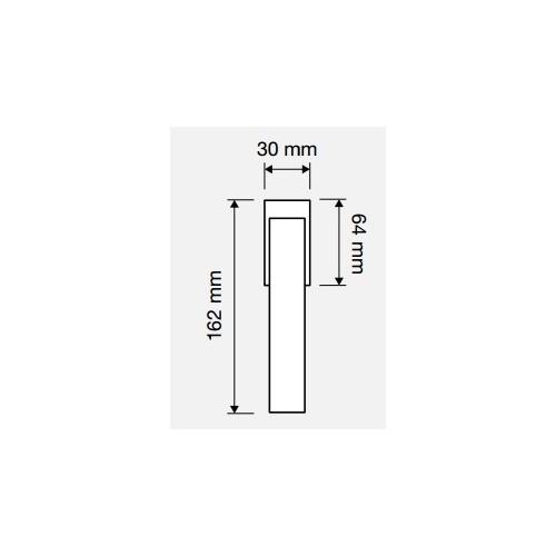 Klamka okienna RIFLESSO MESH 4-skokowa LINEA CALI