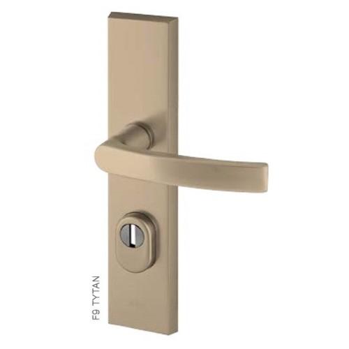 Klamka ODIN FLEX AXA z zabezpieczeniem klasa 3 do drzwi zewnętrznych