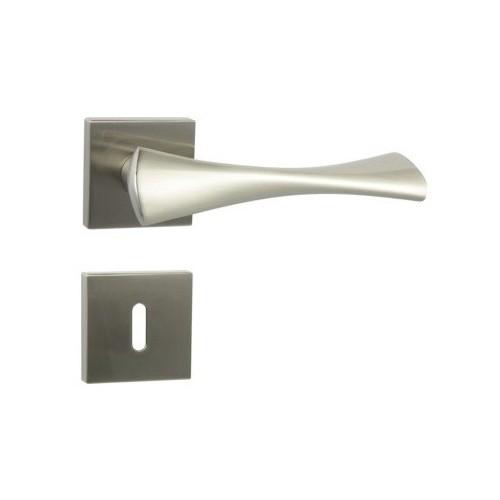 Klamka Cebi TORA QR M9 nikiel lakierowany