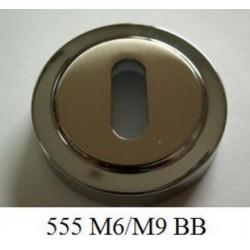 Rozeta 555 szyld okrągły BB na klucz