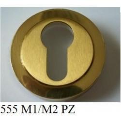 Rozeta 555 szyld okrągły PZ na wkładkę