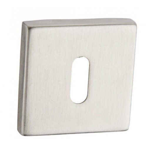 Rozeta kwadratowa RXQ 501 inox na klucz