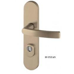 Klamka QUEBEC FLEX AXA z zabezpieczeniem klasa 3 do drzwi zewnętrznych