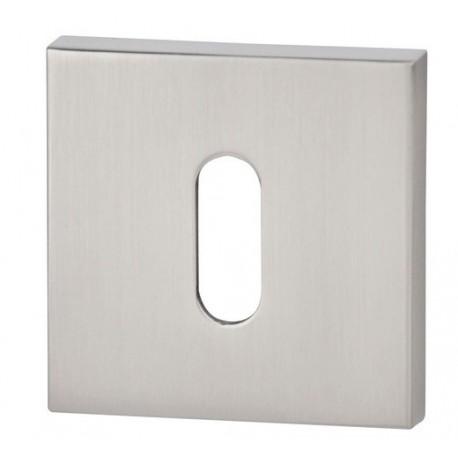 Rozeta kwadrat R67 nikiel satyna na klucz VDS