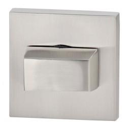 Blokada WC kwadrat R67 nikiel satyna VDS