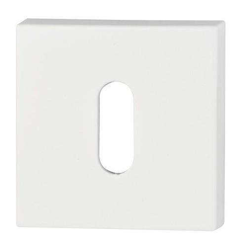Rozeta kwadrat R67 biała na klucz VDS