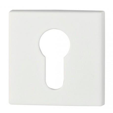 Rozeta kwadrat R67 biała na wkładkę VDS