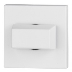 Blokada WC kwadrat R67 biała VDS