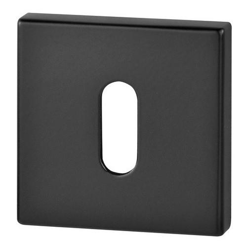 Rozeta kwadrat R67 czarna na klucz VDS