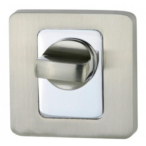 Blokada WC kwadrat R62 nikiel-satyna/chrom VDS