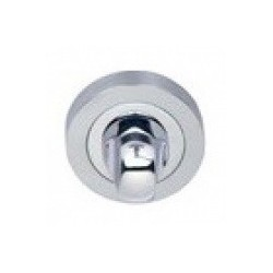 Blokada WC okrągła R1 chrom/chrom-satyna VDS