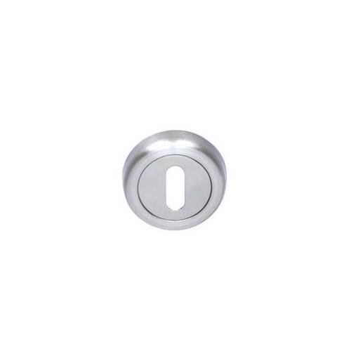 Rozeta okrągła R2 chrom/chrom-satyna na klucz VDS