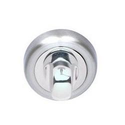 Blokada WC okrągła R2 chrom/chrom-satyna VDS