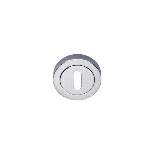Rozeta okrągła R1 chrom na klucz VDS