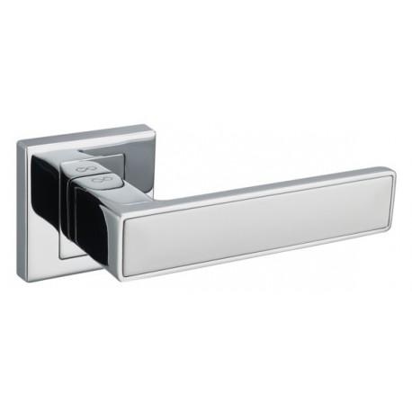 Klamka CONCEPT chrom/biały KCK 700/800