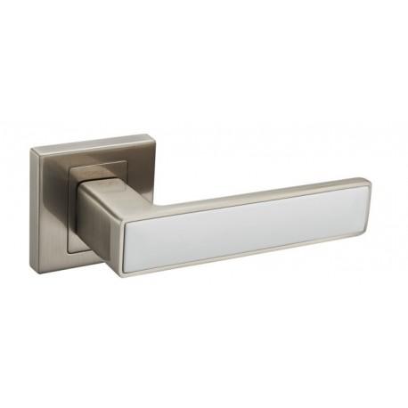 Klamka CONCEPT satyna/biały KCK 300/800
