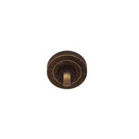 Blokada WC okrągła R1 antyczny złoty VDS