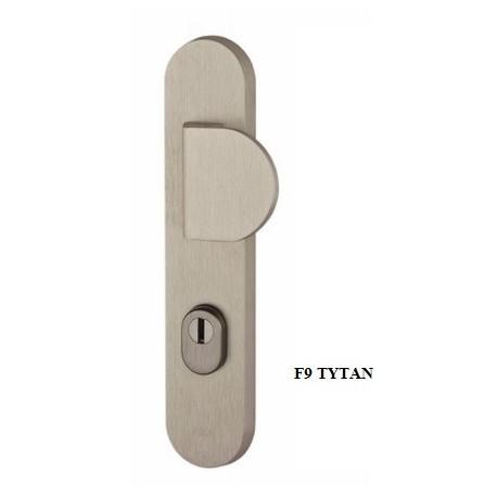 Klamko-pochwyt QUEBEC FLEX AXA z zabezpieczeniem klasa 3 do drzwi zewnętrznych