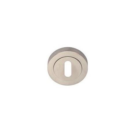 Rozeta okrągła R1 nikiel-satyna na klucz VDS