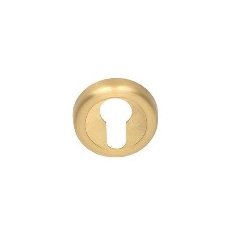 Rozeta okrągła R2 złoty-satyna na wkładkę VDS