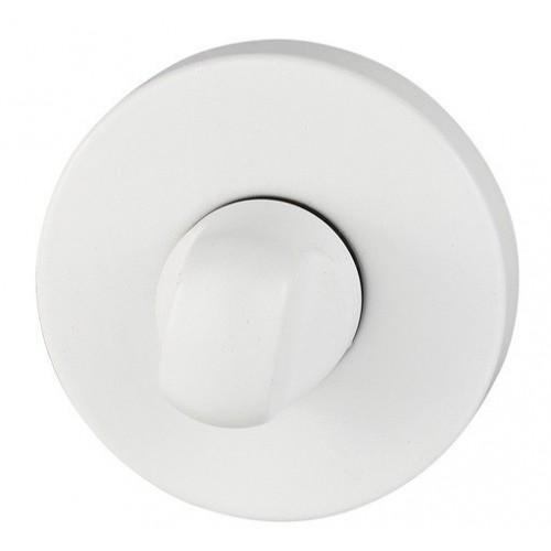 Blokada WC okrągła R68 biała VDS