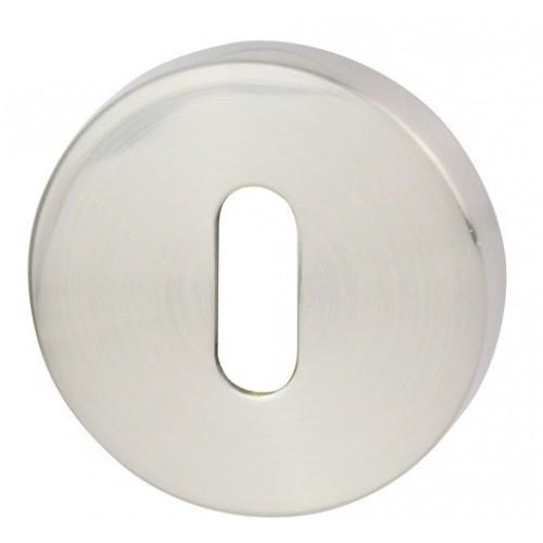 Rozeta okrągła R60 nikiel satyna na klucz VDS