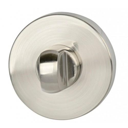 Blokada WC okrągła R60 nikiel satyna VDS