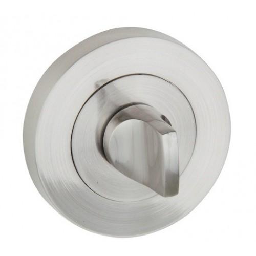 Blokada WC okrągła R13 nikiel-satyna VDS