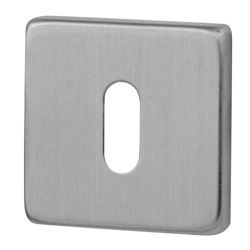Rozeta kwadrat R9 inox na klucz VDS
