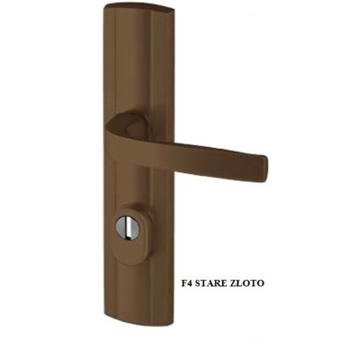 Klamka PRESTIGE FLEX AXA z zabezpieczeniem klasa 3 do drzwi zewnętrznych