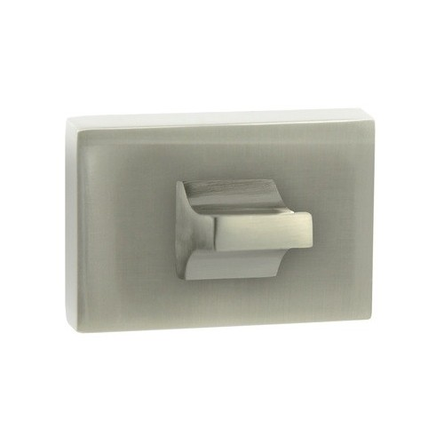 Blokada WC RT szyld prostokątny M9 nikiel Domino