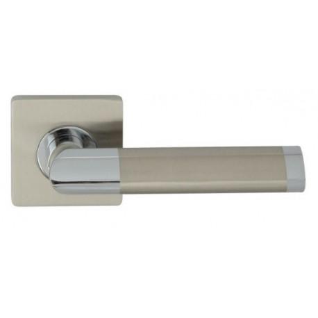 Klamka JARO ECO QR Domino M6/M9 chrom/nikiel lakierowany