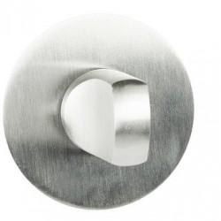 Blokada WC EF SLIM -R szyld okrągły Domino