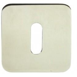 Rozeta EF SLIM QR szyld kwadrat M6 BB Domino