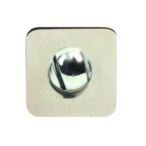Blokada WC EF SLIM QR szyld kwadrat M6 Domino