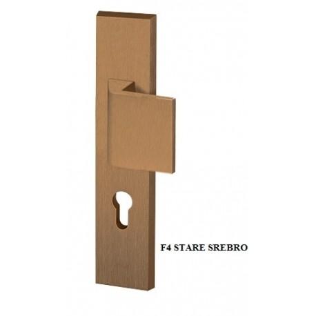 Klamko-pochwyt ROYAL AXA klasa 3 do drzwi zewnętrznych