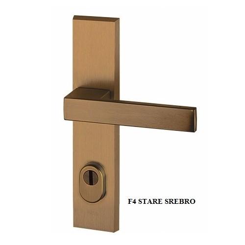 Klamka ROYAL FLEX AXA z zabezpieczeniem klasa 3 do drzwi zewnętrznych